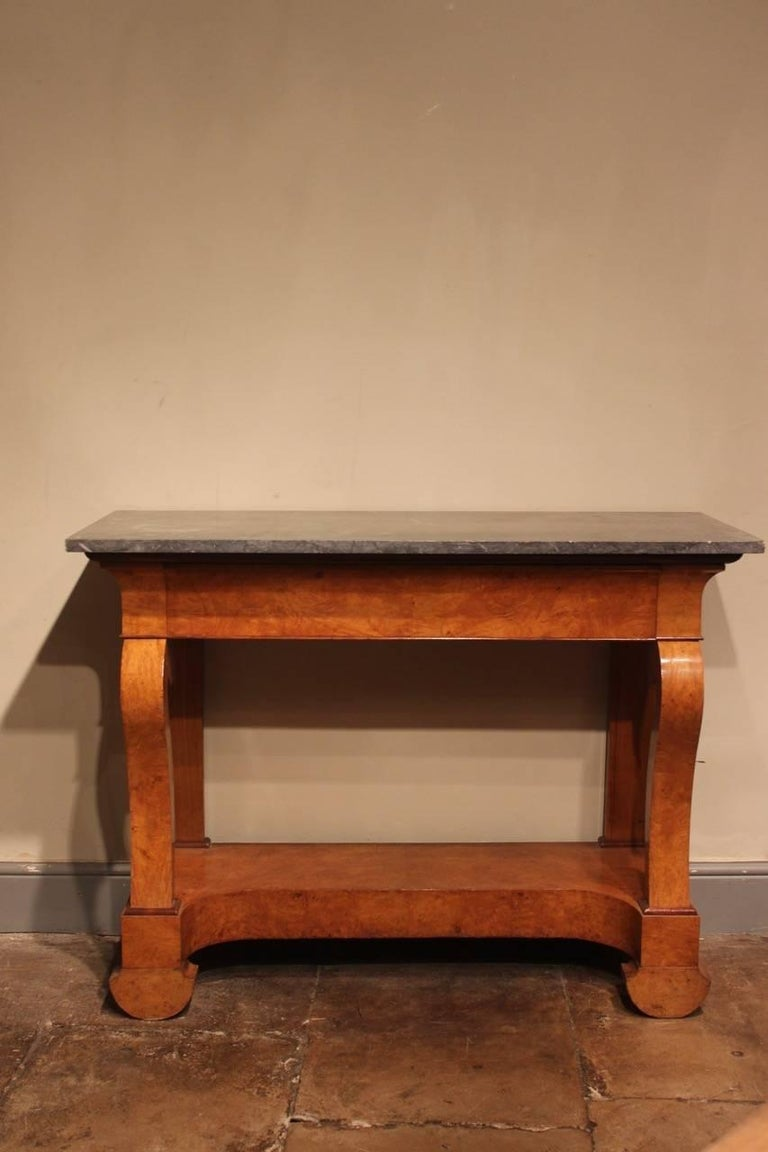 Stylish 19th Century French Ash Console Table In Excellent Condition For Sale In Gloucestershire, GB