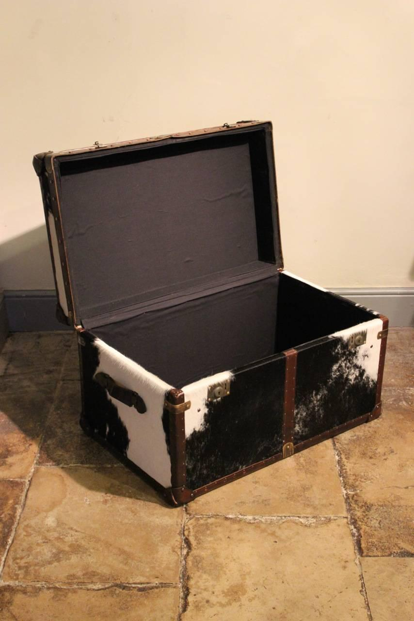 Bespoke Cowhide Trunk Coffee Table At 1stdibs