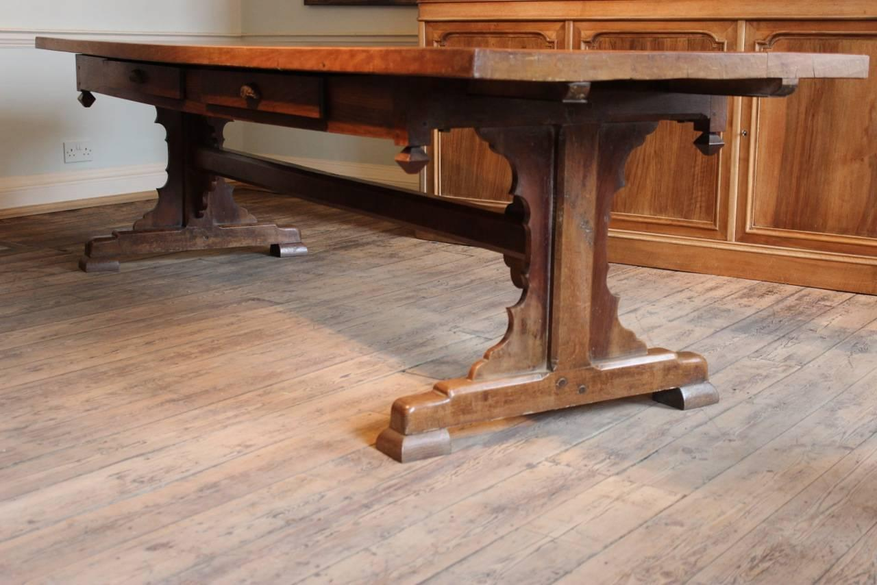 Superb 19th century french farmhouse dining table for sale for 12 person farmhouse table