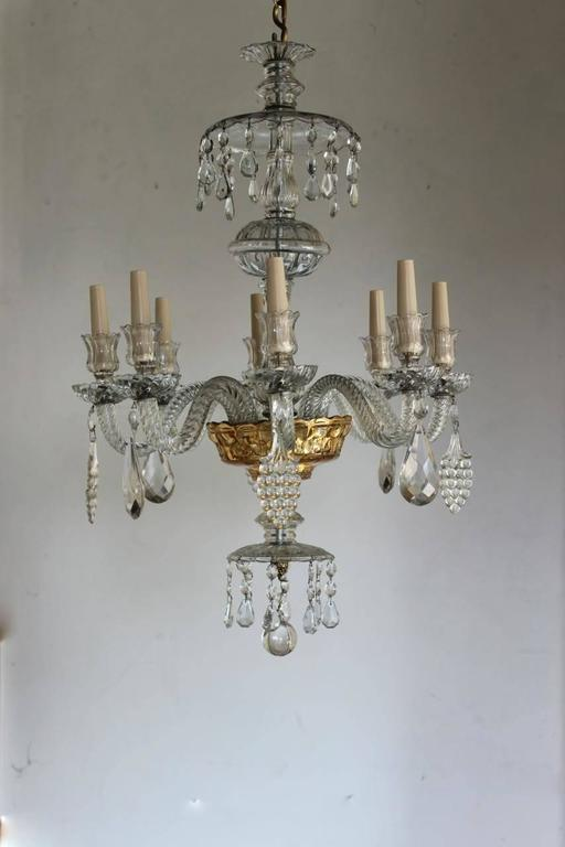 wonderful 19th century venetian nine branch chandelier at 1stdibs. Black Bedroom Furniture Sets. Home Design Ideas