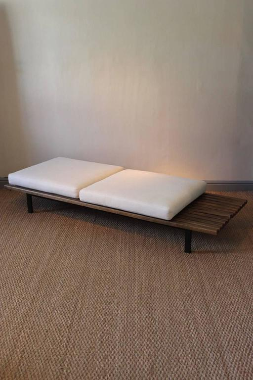 Charlotte perriand cansado bench circa 1950 at 1stdibs for Chaise longue b306
