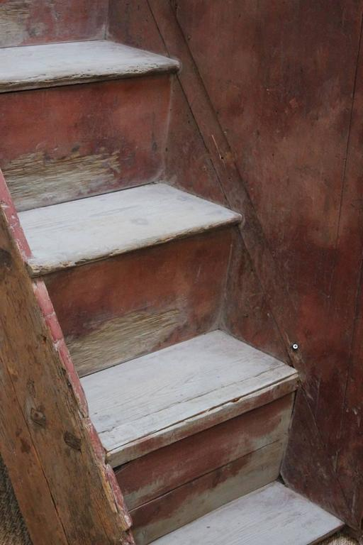 18th Century Italian Painted Staircase For Sale At 1stdibs
