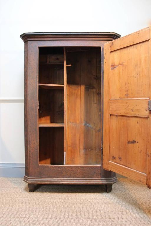 19th Century Austrian Painted Cupboard For Sale 1