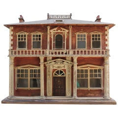 Charming Late 19th Century English Dolls' House