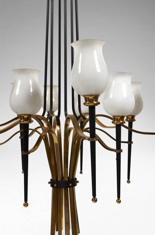 Pair of French Ceiling Lights In Excellent Condition For Sale In Paris, FR