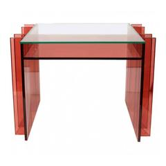 """Blade"" Line Vanity Table by Charles Hollis Jones"