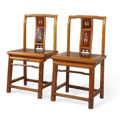 Pair of Qing Chairs