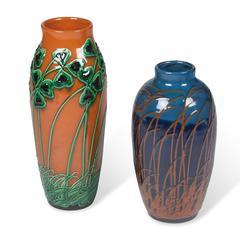 Two Art Nouveau Vases by Max Laeuger