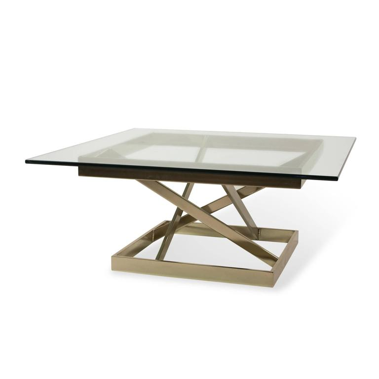 Intersecting Angles Coffee Table, 1990s 3