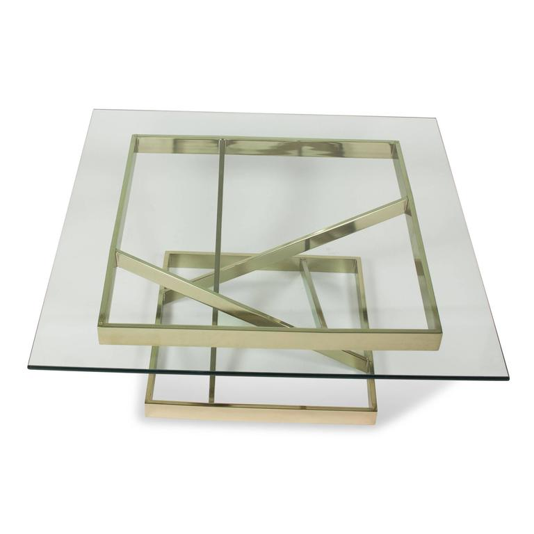 Intersecting Angles Coffee Table, 1990s 5