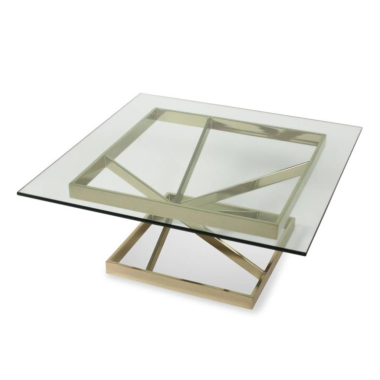Intersecting Angles Coffee Table, 1990s 4