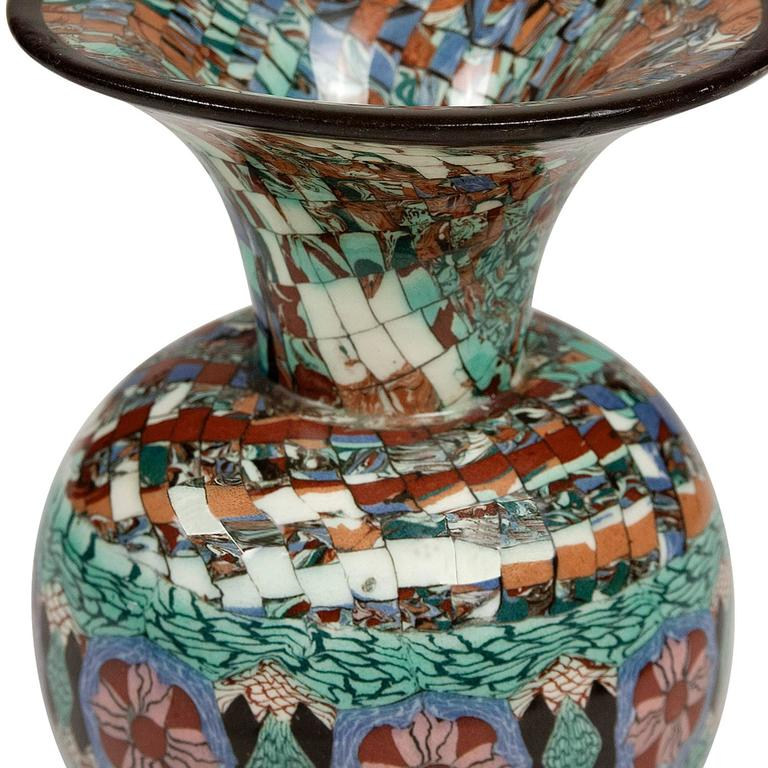 Two Mosaic Vases by Gerbino 5