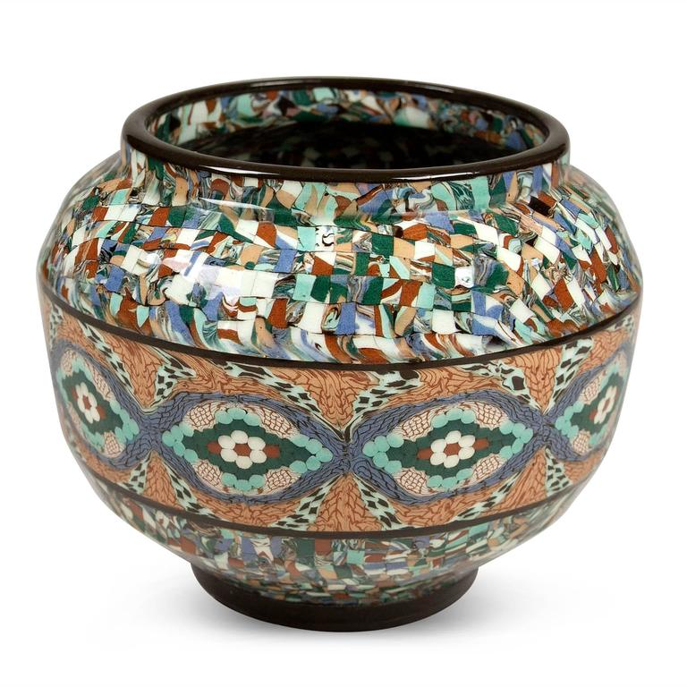 Two Mosaic Vases by Gerbino 7
