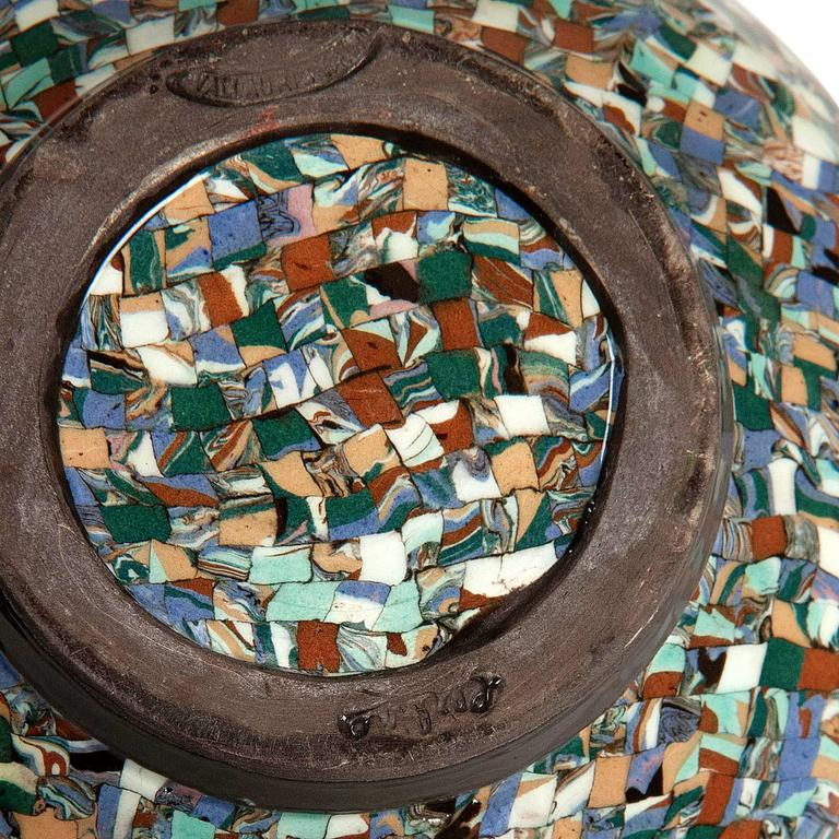 Two Mosaic Vases by Gerbino 8
