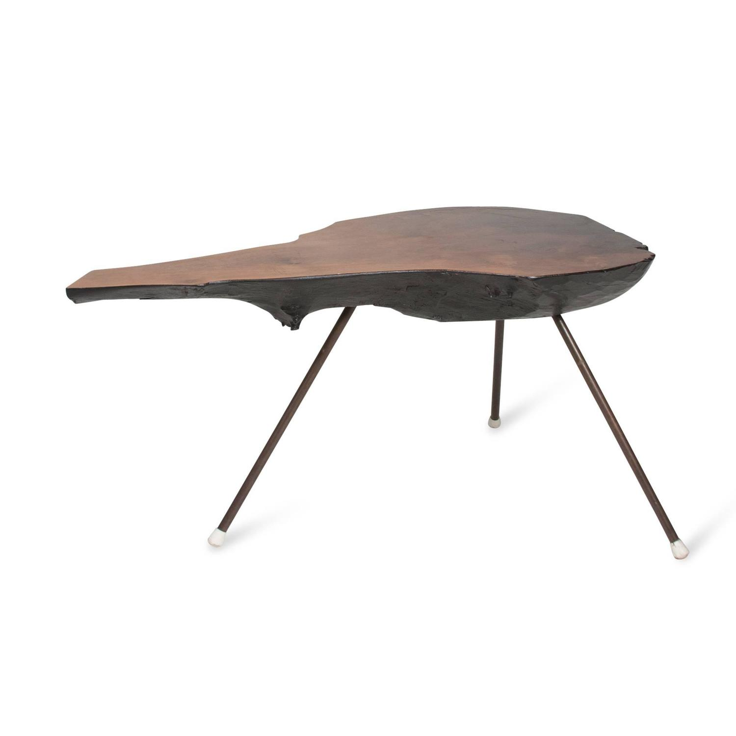 Tree trunk table by carl aubock for sale at 1stdibs - Tree trunk table and chairs ...