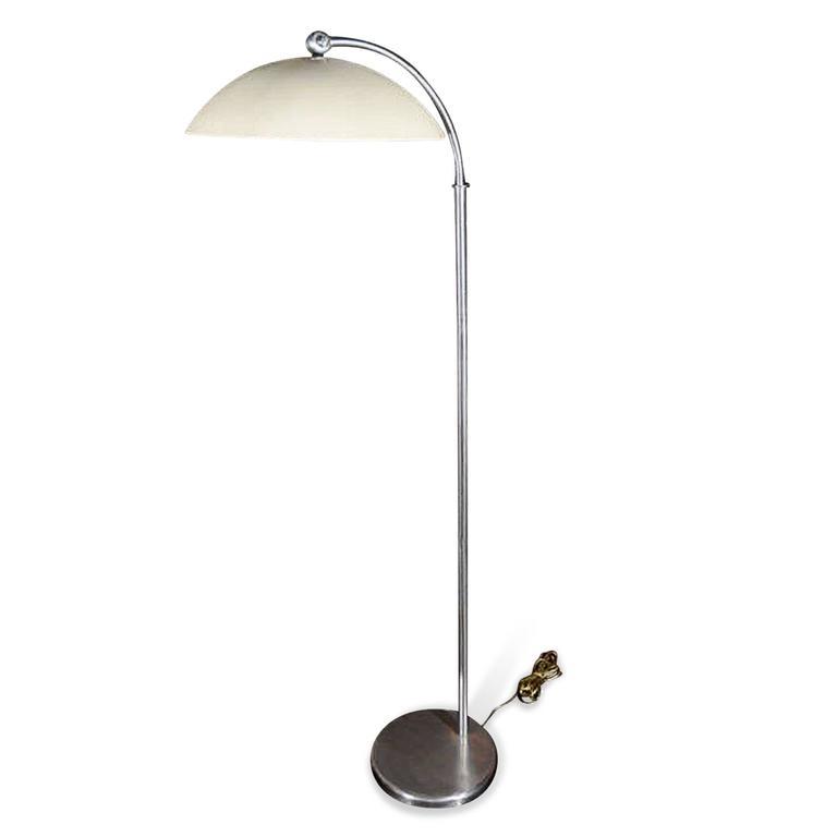 Rare Standing Lamp by Walter Von Nessen, American, 1930s 5