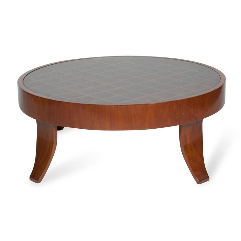 Olivewood Coffee Table Attributed To Gio Ponti For Sale At 1stdibs