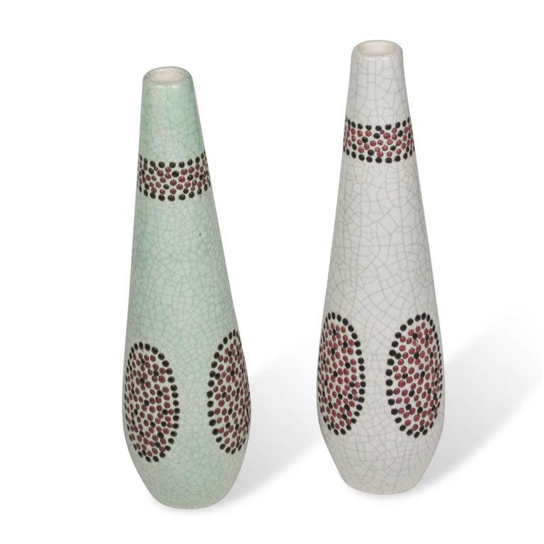 Set of Two Ceramic Vases by Primavera 3