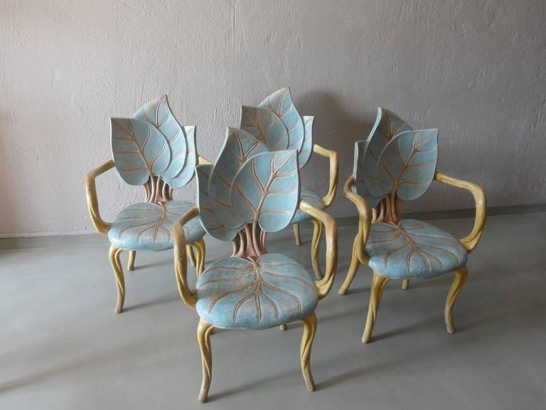 Set Of Four Armchairs By David Barrett At 1stdibs