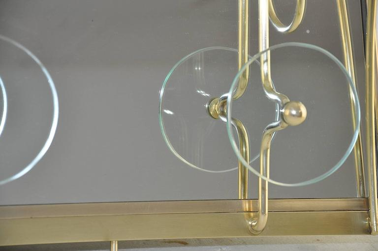 High Quality Glass Coat Rack in the Style of Fontana Arte 2