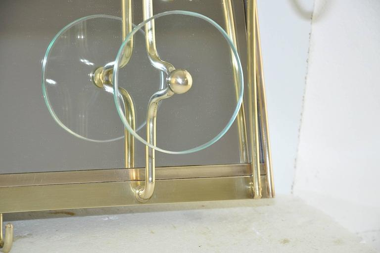 High Quality Glass Coat Rack in the Style of Fontana Arte 3