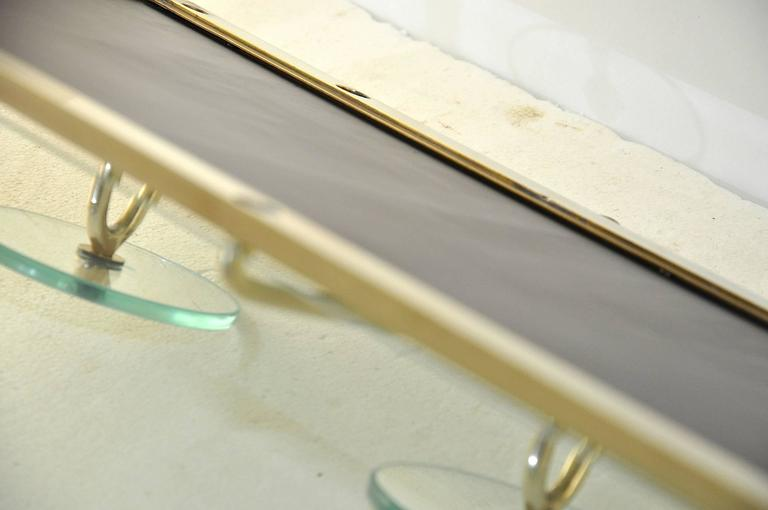 High Quality Glass Coat Rack in the Style of Fontana Arte 8
