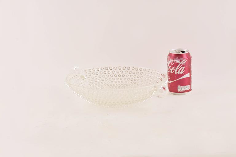 Mid-20th Century Italian Glass Bowl or Centerpiece, Mid-Century Modern For Sale