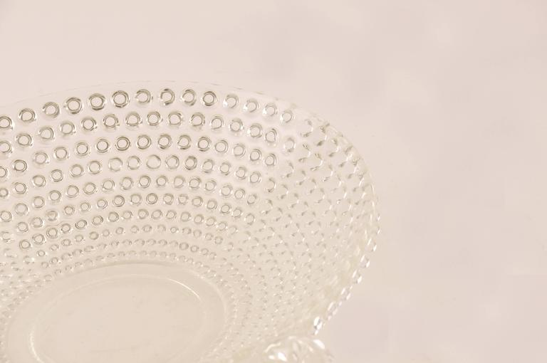 Italian Glass Bowl or Centerpiece, Mid-Century Modern For Sale 3