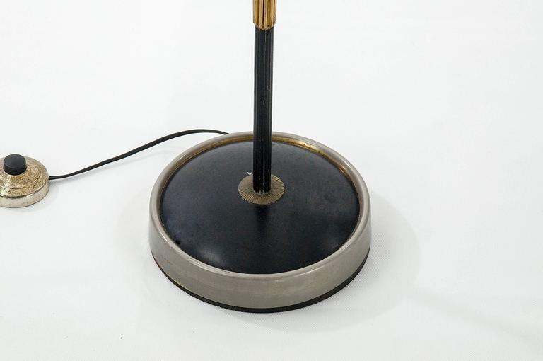 1950 Art Deco Beethoven Floor Lamp For Sale 1