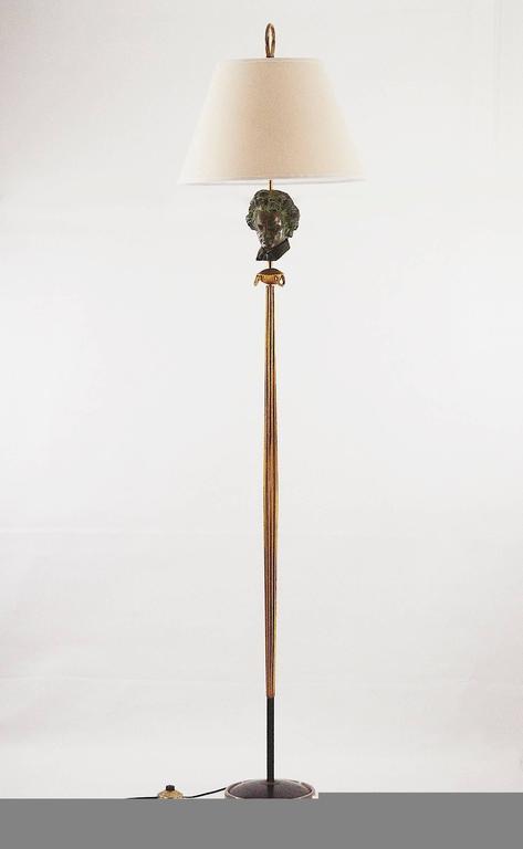 1950 Art Deco Beethoven Floor Lamp For Sale 2