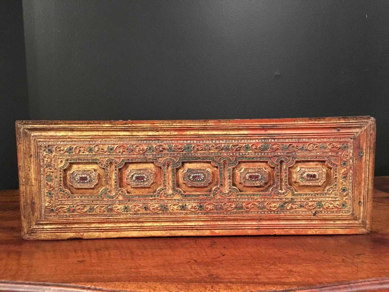 Asian burmese furniture