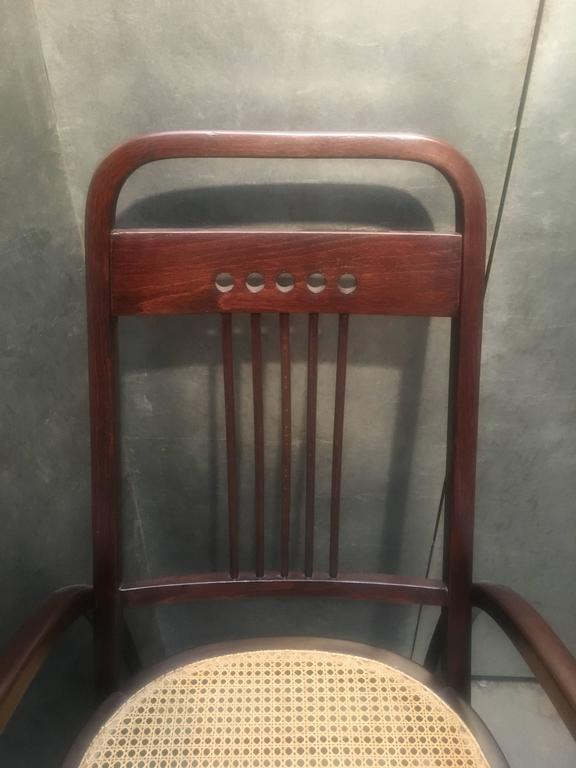 Thonet Model No. 511 Bentwood Armchair, Vienna Secession, circa 1904 For Sale 1