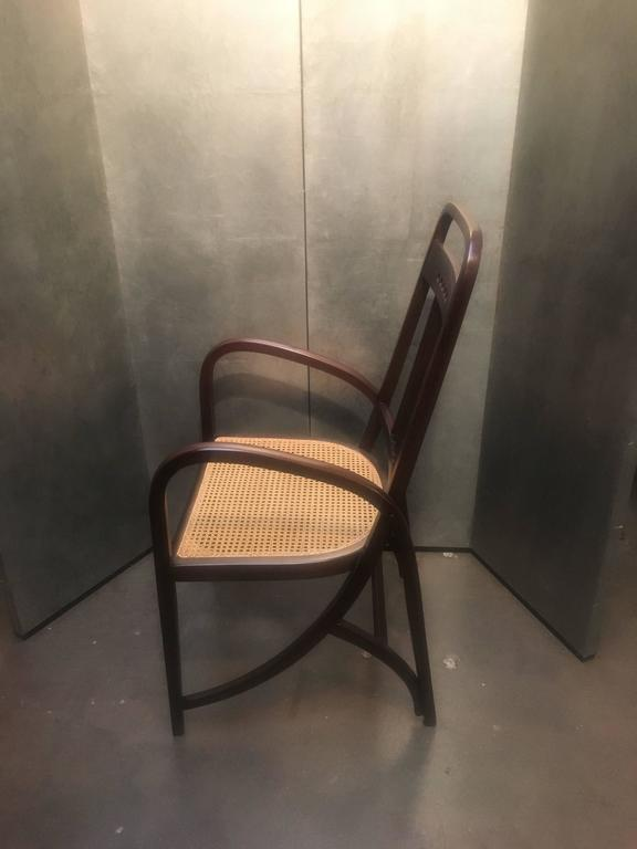 Thonet Model No. 511 Bentwood Armchair, Vienna Secession, circa 1904 In Good Condition For Sale In Austin, TX