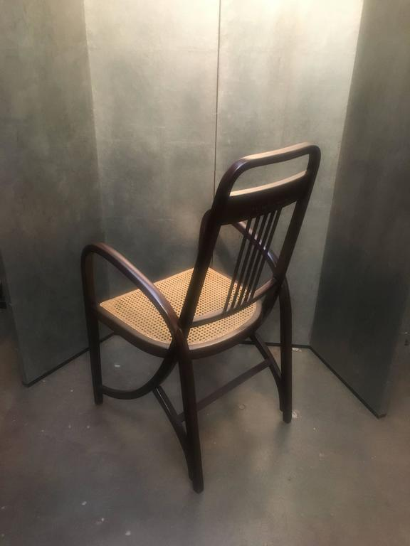 Early 20th Century Thonet Model No. 511 Bentwood Armchair, Vienna Secession, circa 1904 For Sale
