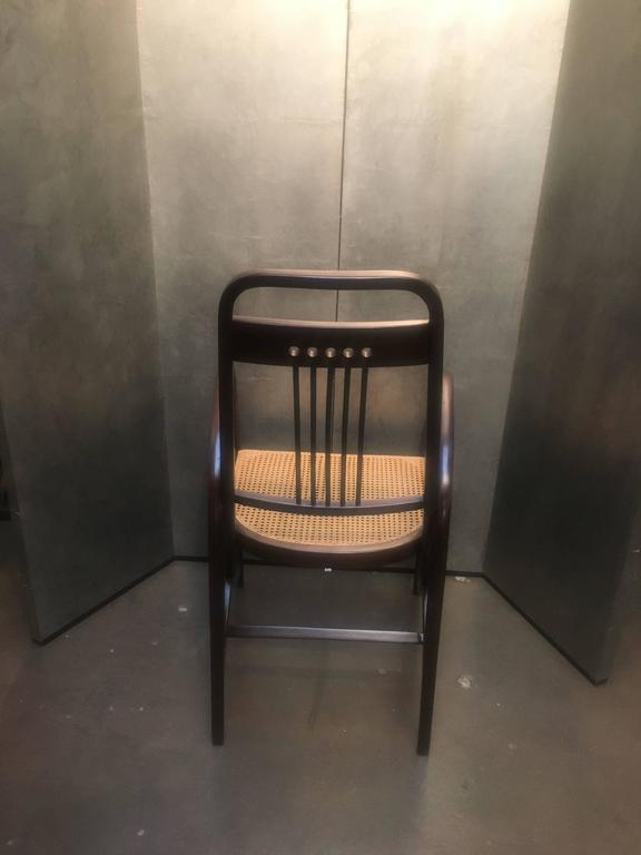 Cane Thonet Model No. 511 Bentwood Armchair, Vienna Secession, circa 1904 For Sale
