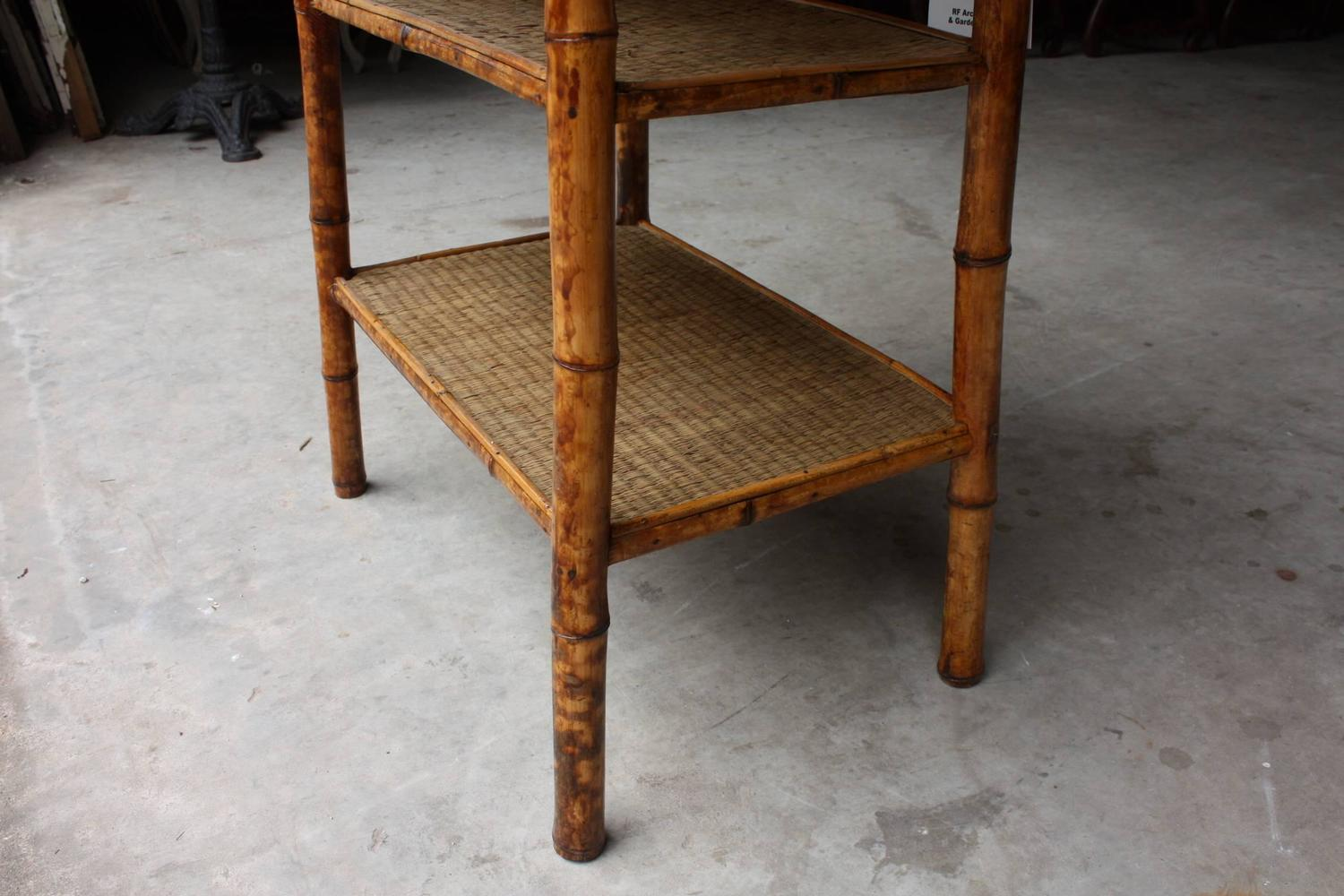 19th century victorian english tiger bamboo tables at 1stdibs for Sir tiger s table 6 th