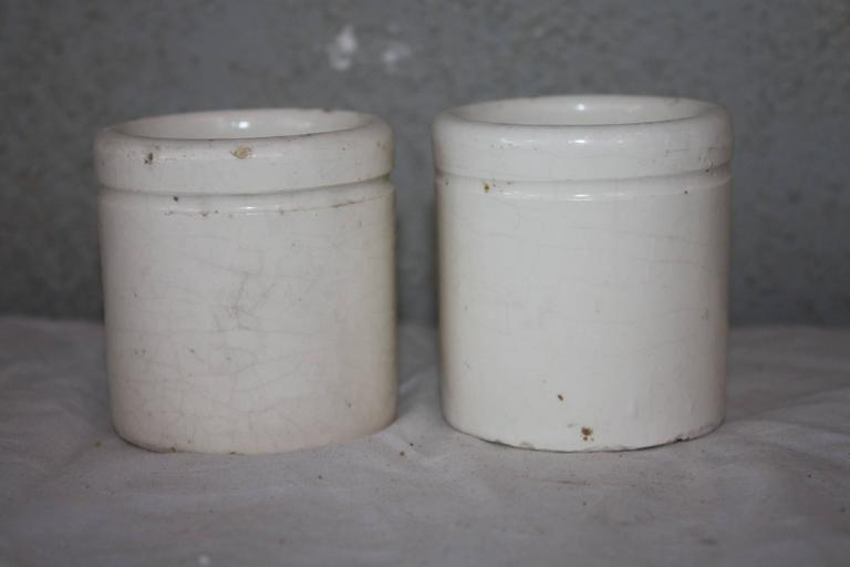 19th Century French Herb Pots 3