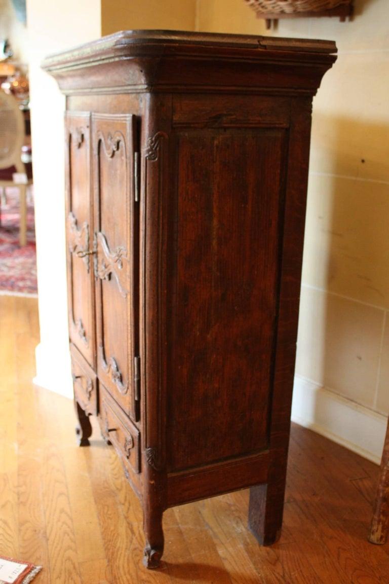 19th century louis xv oak cabinet de confiture jam holder for Sideboard jam