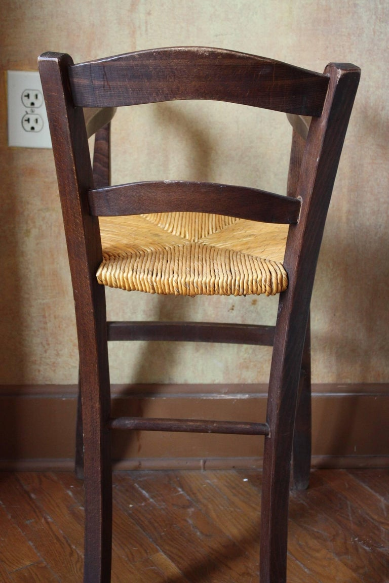 French Antique High Chair/Youth Chair For Sale 2 - French Antique High Chair/Youth Chair At 1stdibs