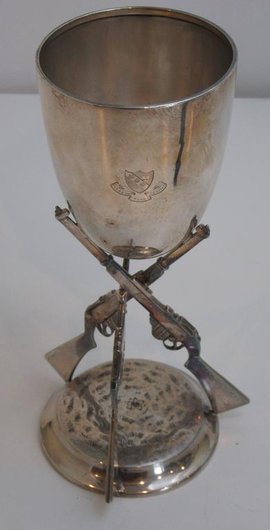 English Sterling Silver Trophy Chalice of the Monkton Combe School, 1912 2