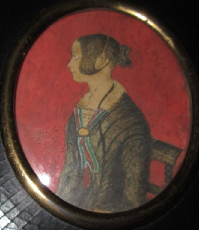 English Group of Three Regency Period Miniature Portraits of Ladies For Sale