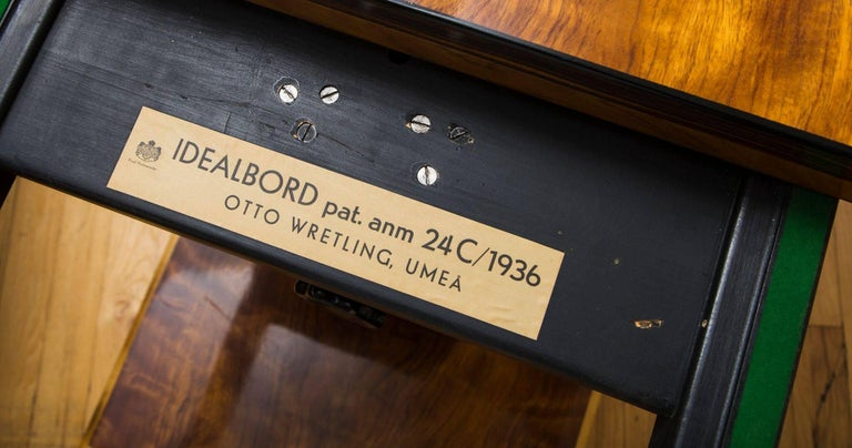 Ebonized Pair of Otto Wretling