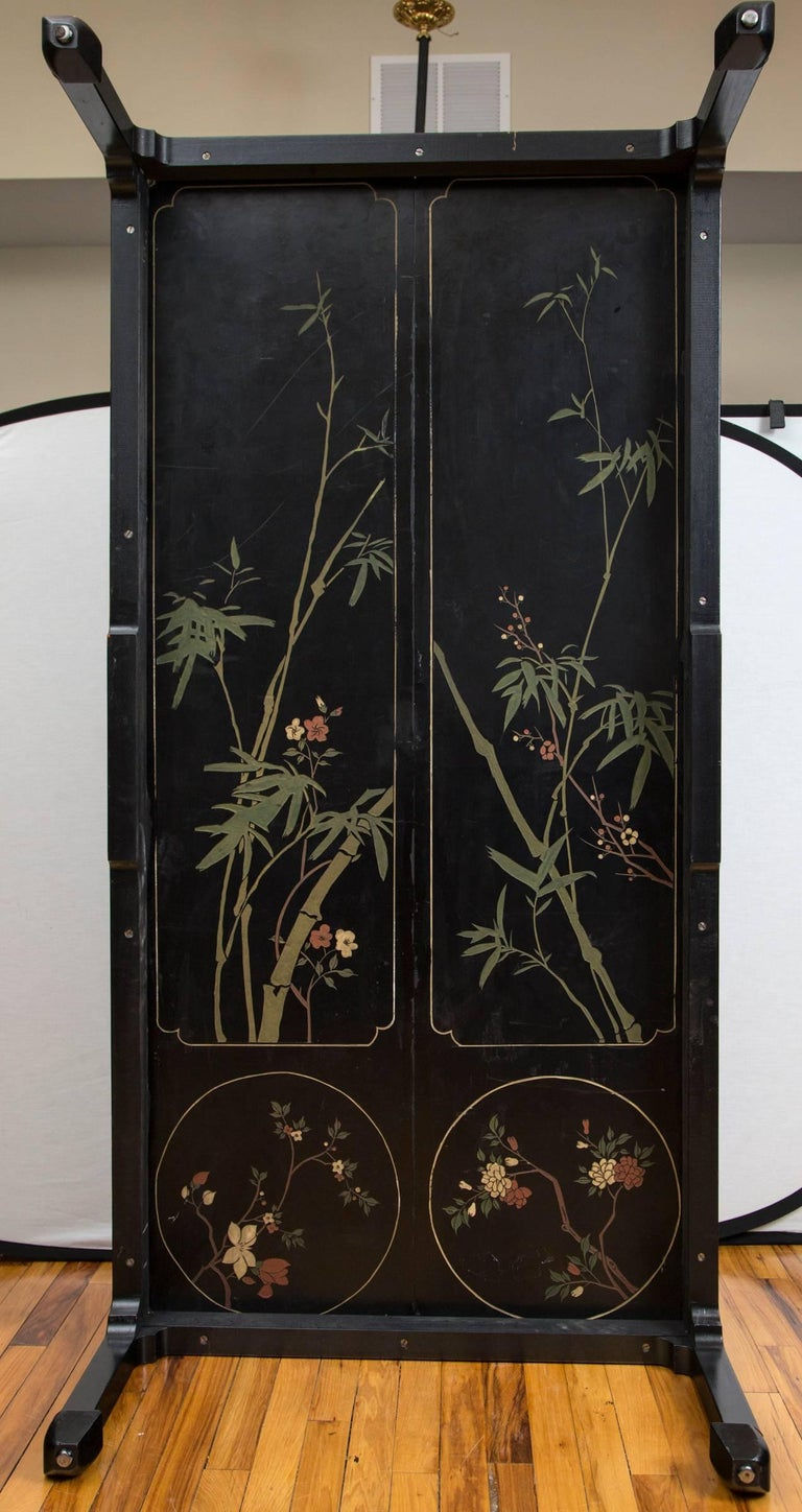 19th Century Chinese Coromandel Panels as Coffee Table For Sale 2