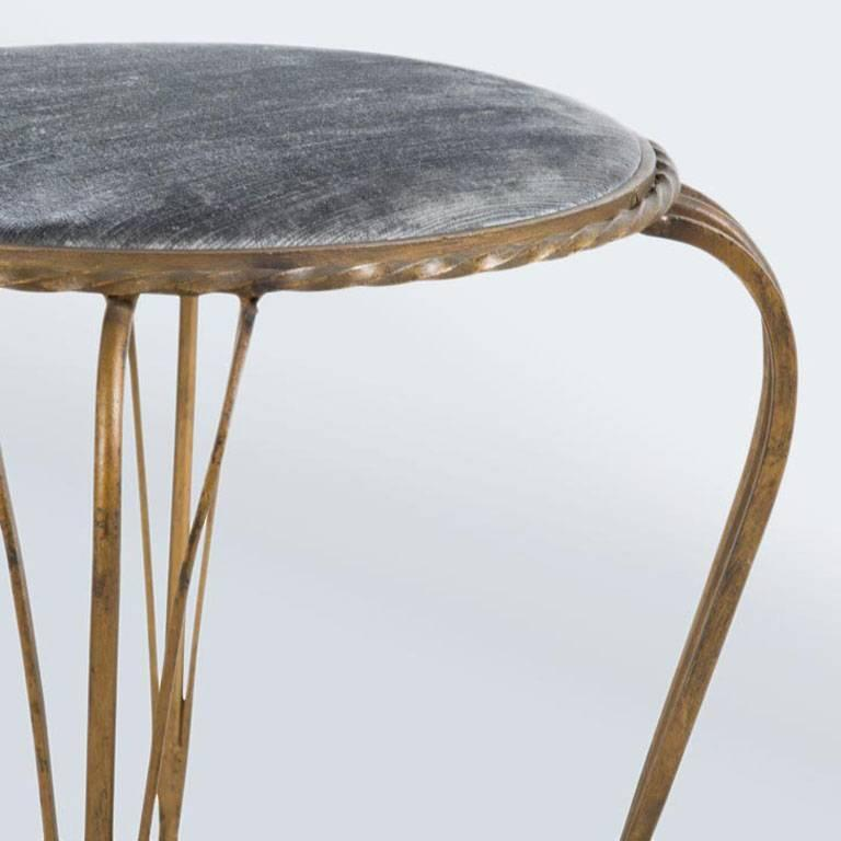 French 1950s Stools For Sale At 1stdibs
