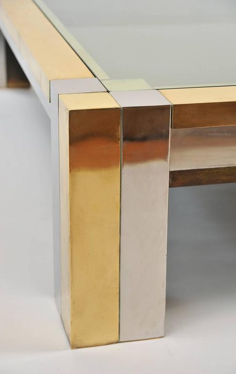 Impressive 1960s Square Coffee Table by Nucci Valsecchi 3