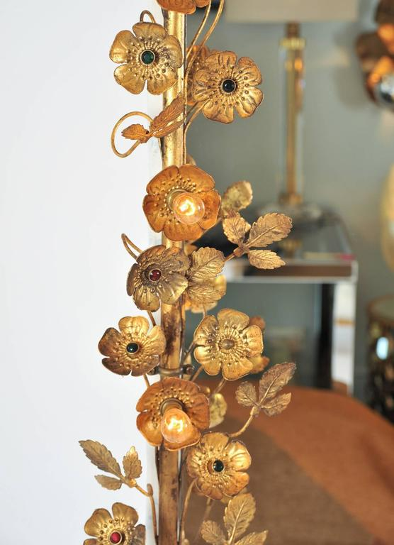Gracie Flower Light Mirror For Sale At 1stdibs