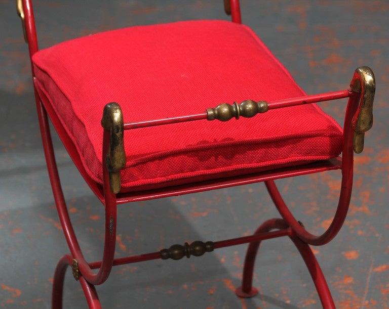 Red Italian Bench 5