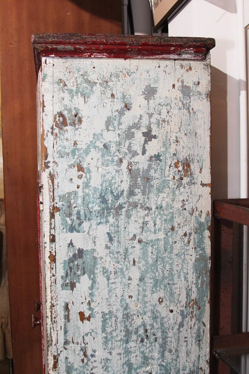 Midwest Cabinet in Old Paint For Sale 4