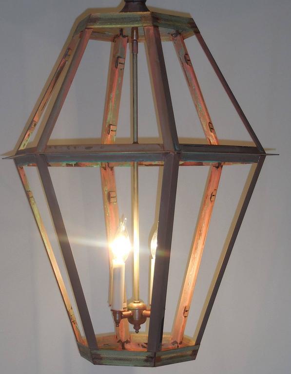 Large Copper Lantern For Sale 1