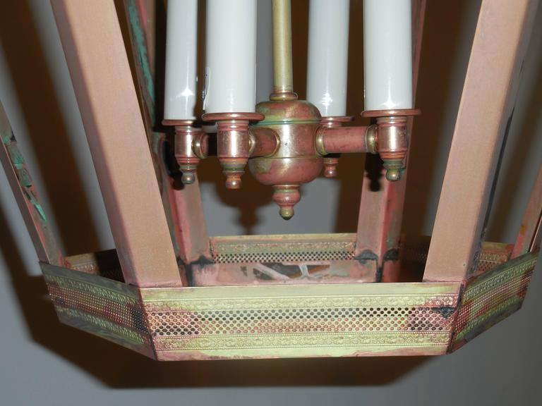 Large Copper Lantern For Sale 5